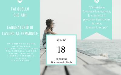 Fai Quello Che Ami ★  18 Feb '17 (Desenzano del Garda – BS)