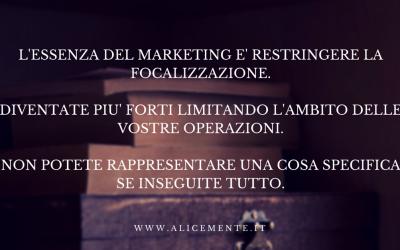 Marketing & Focalizzazione