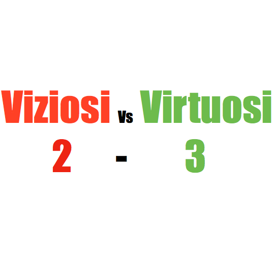 Viziosi VS Virtuosi (Meeting Tuscany)