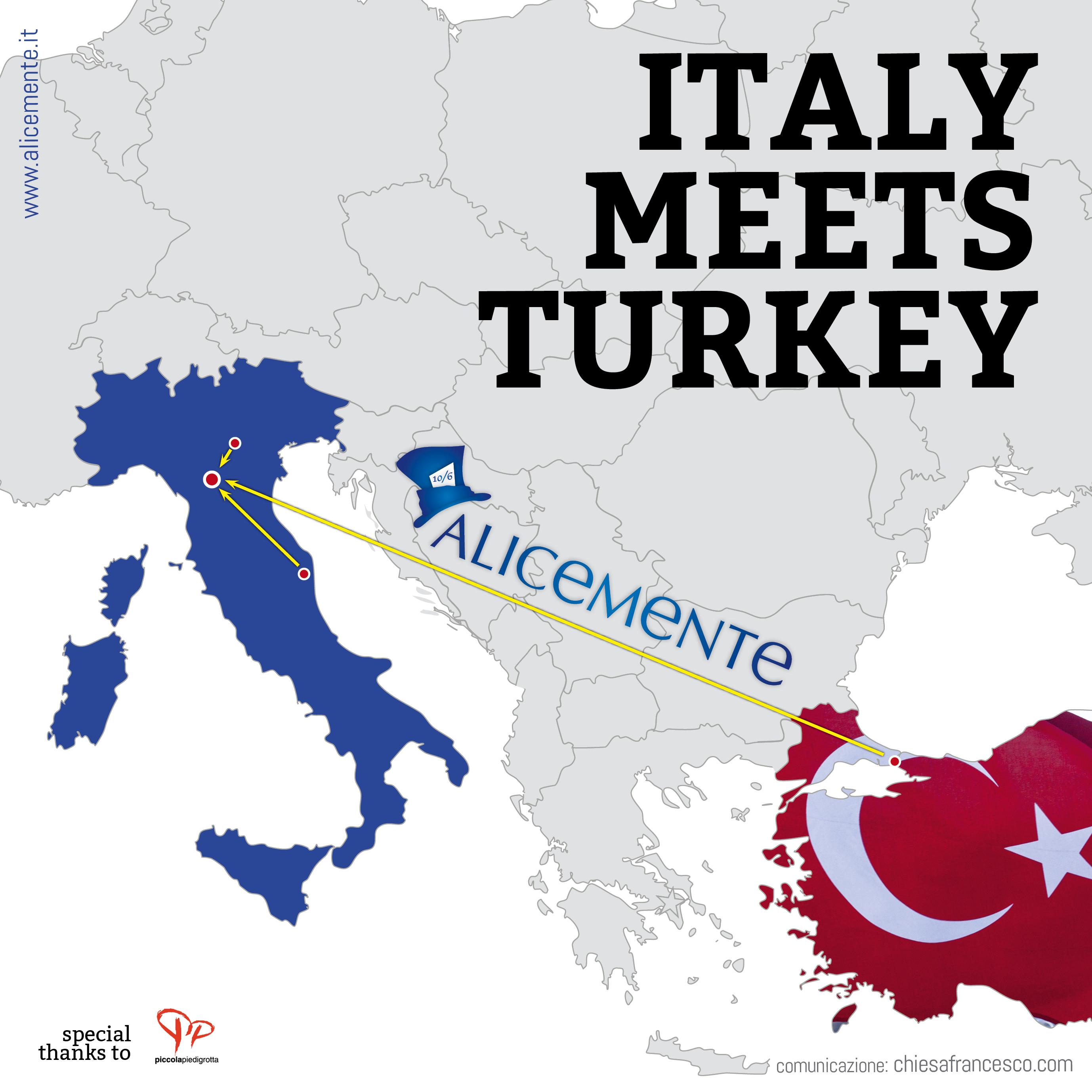 Il Sapore Umano di un incontro di lavoro: Italy meets Turkey